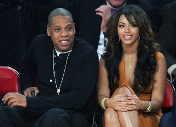 Newlyweds Jay-Z & Beyoncé: Already Brawling