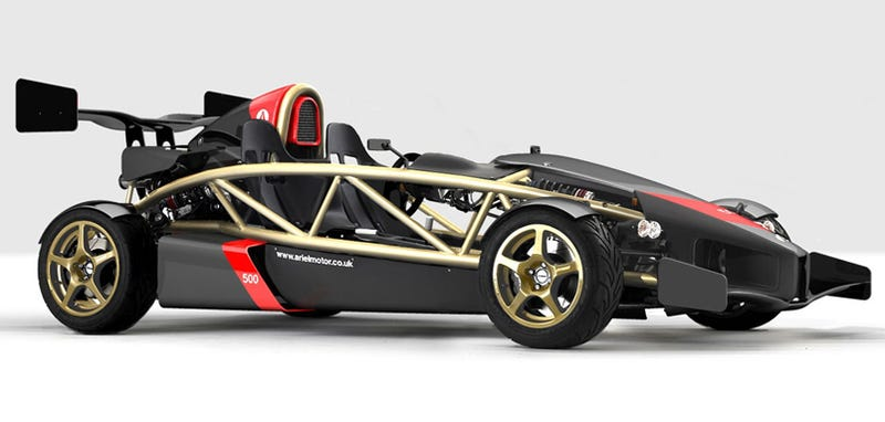 500 HP Ariel Atom V8 To Cost At Least $160,000