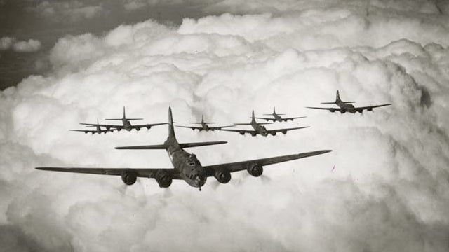Allied planes unintentionally changed the weather during World War II