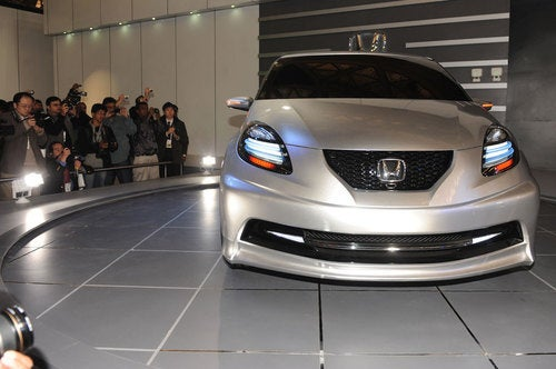 New Honda Small Car Concept: Live Photos