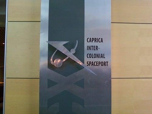 Caprica Set Pics