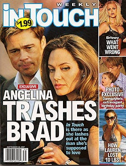 4 Out Of 5 Tabloids Agree: Angelina Jolie Loves Her Kids; Either Loves Or Hates Brad