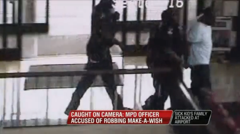 Cop Robs Family of Make-A-Wish Foundation Donations
