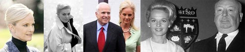 Did Cindy McCain Take Styling Tips From Alfred Hitchcock's Blondes?