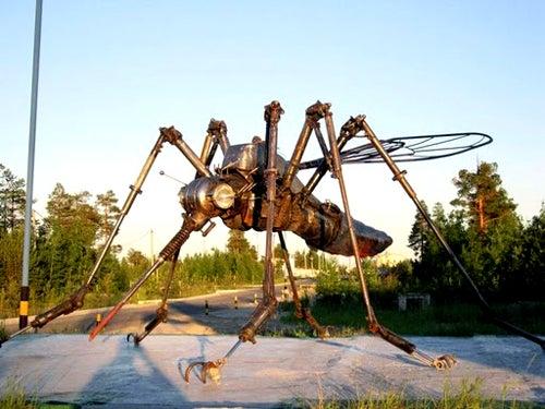 Frankenmosquitoes Released on Cayman Islands