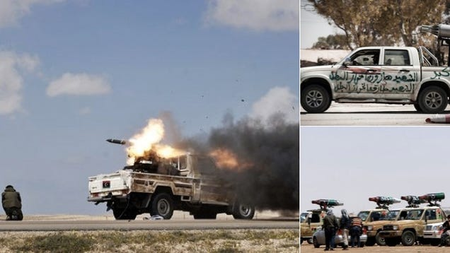 There Is Still Heavy Fighting In Libya