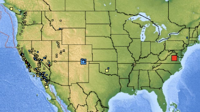 East Coast of US shaken by Virginia earthquake
