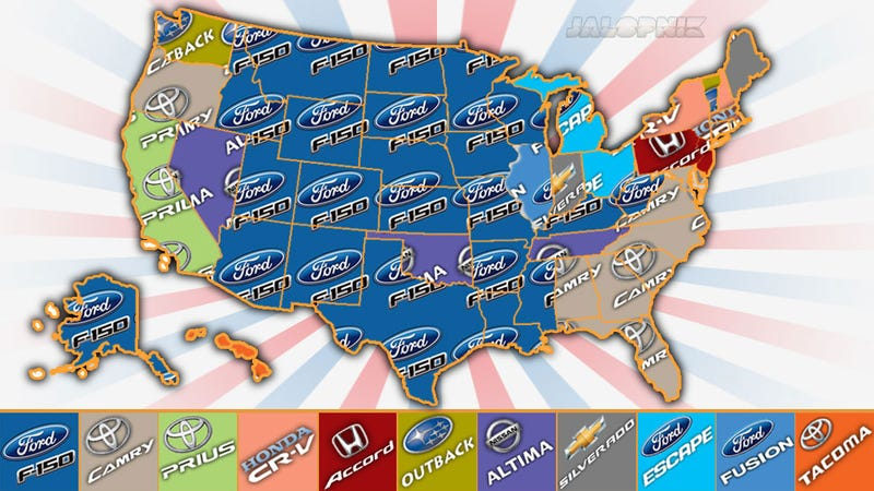 These Are The Most Popular New Cars In Each State