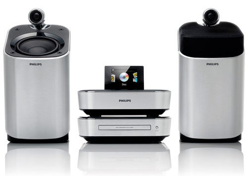 Philips SoundSphere Stereos Keep Their Tweeters Where You Can See 'Em