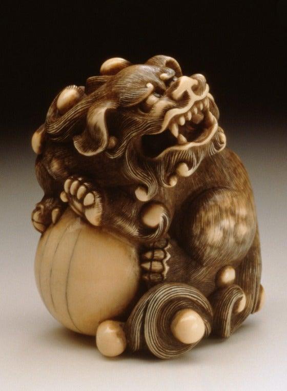 Spirit Foxes and Raunchy Demons in Japanese Netsuke Art