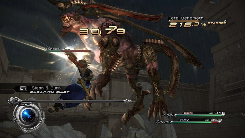 Let's Give a Big Hand to This New Set of Final Fantasy XIII-2 Screens