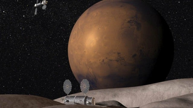 Why we might send humans to the Mars moon Deimos before we go to Mars itself