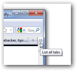 The Illustrated Guide to the New Firefox 3.6 Windows 7 Integration