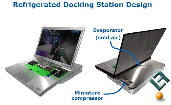 Embarco's External Chilled Air Docking Station Brings Refrigeration to Your Laptop