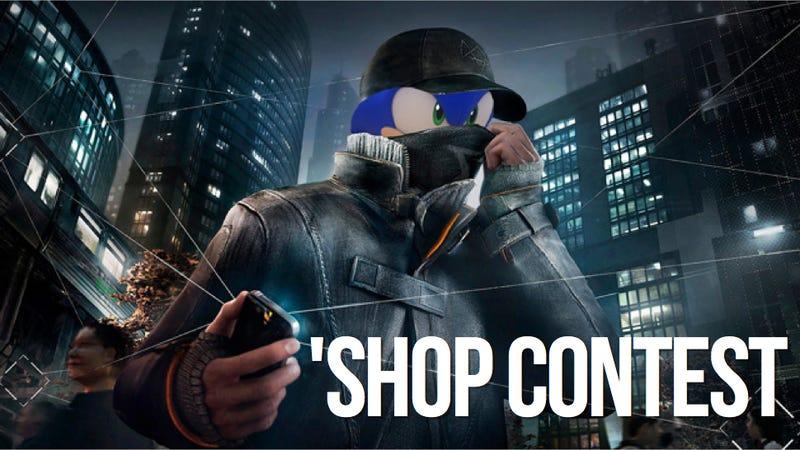 Kotaku 'Shop Contest: Sonic Bust
