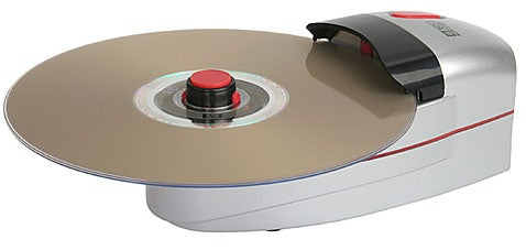 USB-Powered CD Destroyer Mauls a Disc in Five Seconds