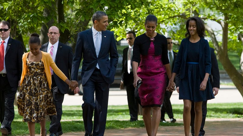 The Obamas' Easter Outfits Put the Rest of Us to Shame