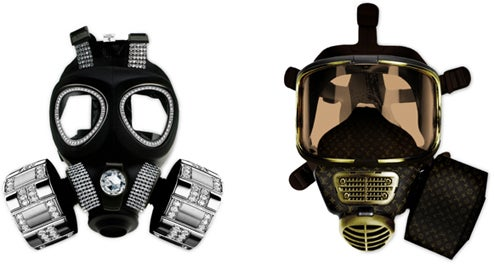 Living Isn't Worth Wearing the Diddo Velema Gas Mask