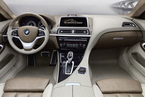 BMW Concept 6 Series Coupe: First Interior Photos