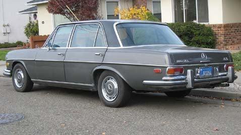 1972 Mercedes-Benz 280SEL 4.5