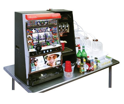 A Slot Machine That Rewards You With Alcohol