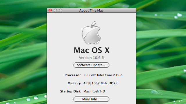 How to Update Your Hackintosh to Mac OS 10.6.6