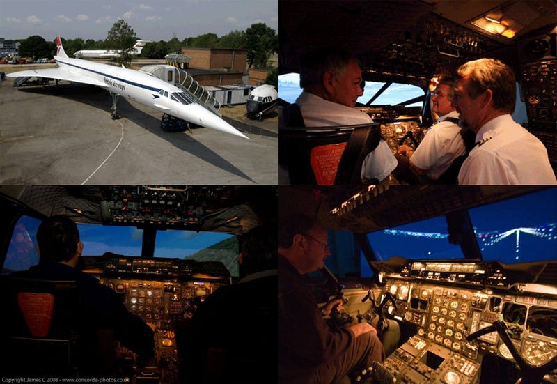 Now You Can Fly a Full-Sized Concorde (Simulator)