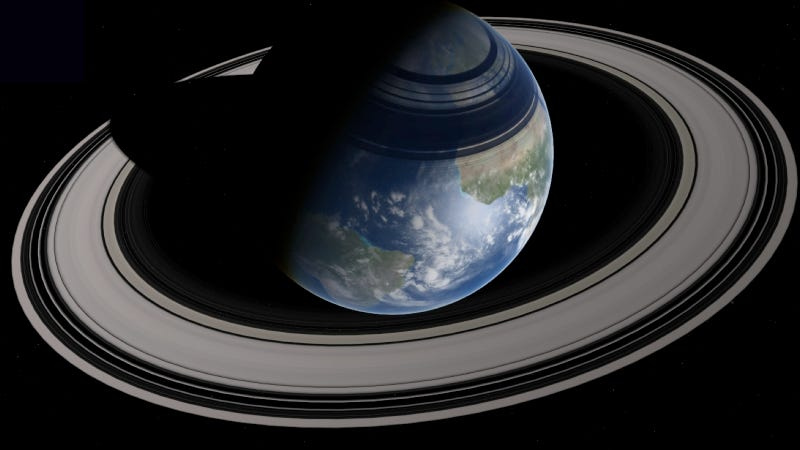 Using the Roche Limit to Make Earth a Ringed Planet