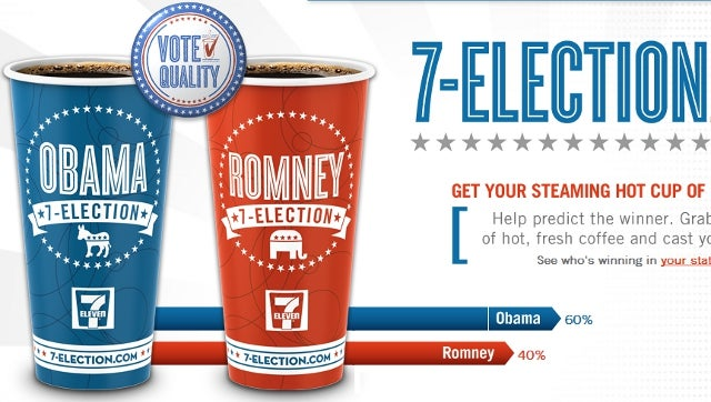 President Obama Has Already Clinched the Election — According to 7-Eleven