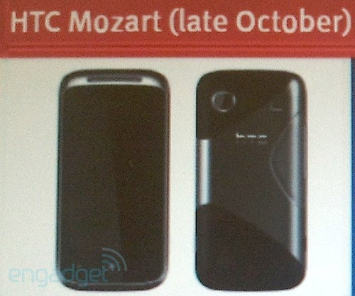 Leak: HTC's Windows Phone 7 Mozart Will Launch Late October in UK at Least
