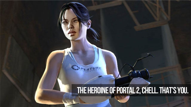 But I Don't Play Video Games! Don't Worry. Portal 2 Will Teach You How