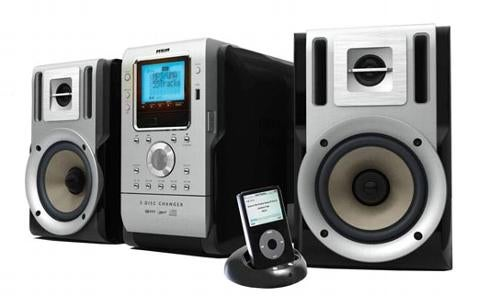 RCA Shows Off Two iPod Compatible Stereos