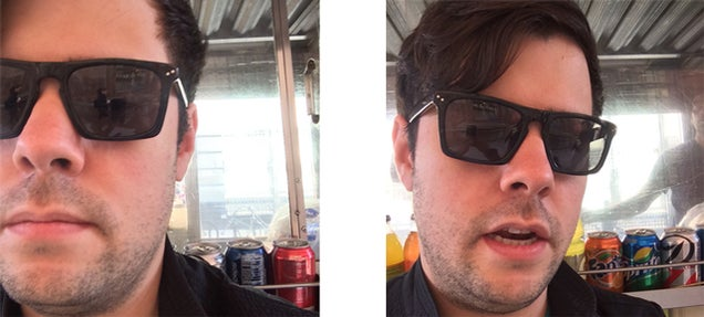 The Perfect Selfie Is a Half-Selfie