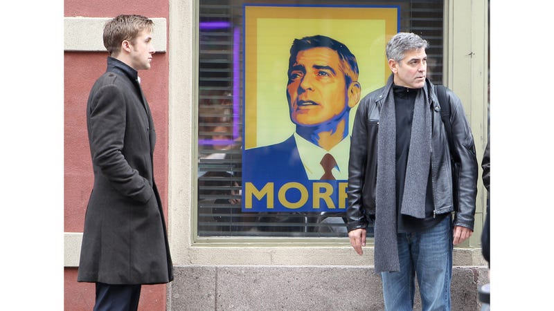 Christmas Has Come Early: Ryan Gosling & George Clooney. Together.