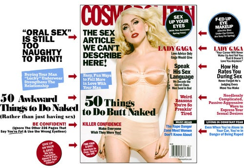 Cosmo: Buy Your Boyfriend Lucky Underwear, And Other Bad Romance Tips