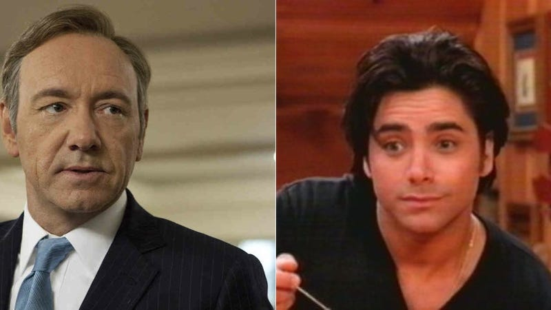 John Stamos and Kevin Spacey Inadvertently Pitch a Brilliant New Show