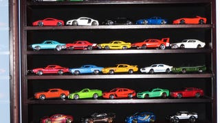 Hot Wheels Display Case