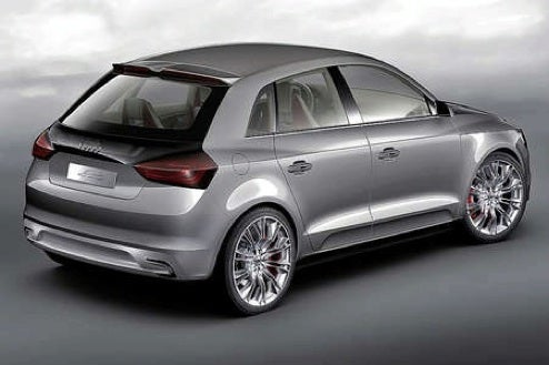 Audi A1 Sportback Concept Images Revealed, Paris Motor Show Draws Near