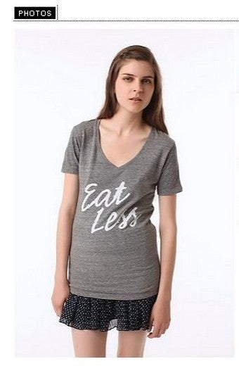 "Urban Outfitters Pulls ""Eat Less"" Shirt"