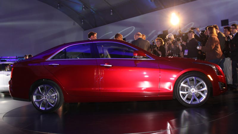 2013 Cadillac ATS: 2012 Detroit Auto Show Live Photos