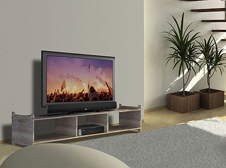 Polk Audio SurroundBar 360 DVD Theater Does 5.1 With a Single Speaker