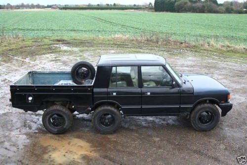 6-Wheel Range Rover Pickup Perfect For Hauling Hot Air Balloons