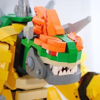 Giant Mecha Bowser, Made of LEGO, Is My New Dream Christmas Present