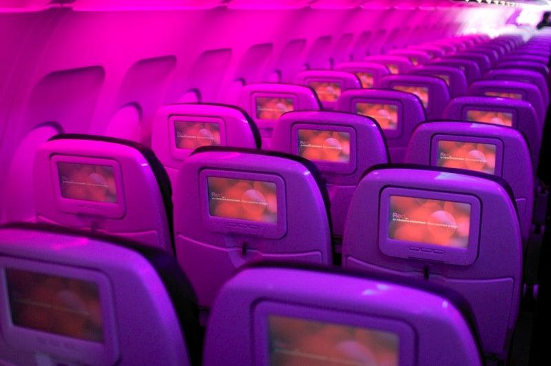 Virgin America's In-Flight Ethernet, USB, 110v Power and Doom
