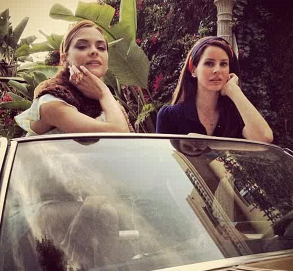 Lana Del Rey Has Very Lana Del Rey Photoshoot with Jaime King