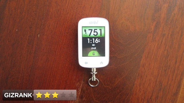 Striiv Pedometer Lightning Review: Step It Up