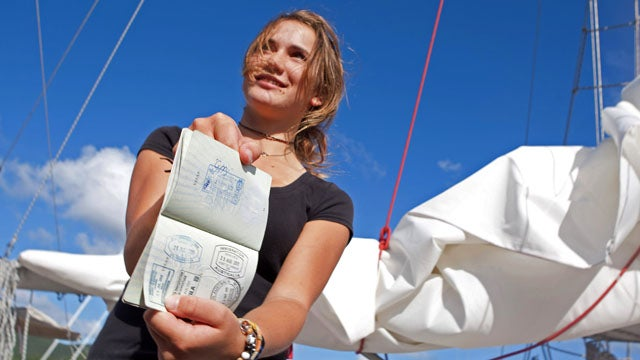 Today in Youth Who Make Us Feel Lazy: 16-Year-Old Girl Sails Around the World by Herself