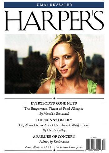 The Harper's (Bazaar) Index: January 2008