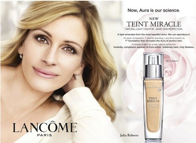 L'Oreal Forced To Pull Airbrushed Ads Of Julia Roberts, Christy Turlington
