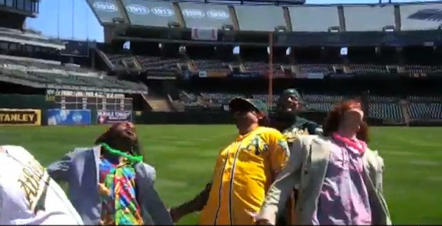 Coco Crisp Gets Canseco'd In The Outfield, Dies And His Reanimated Corpse Bernie Leans In Newest Weirdo Video
